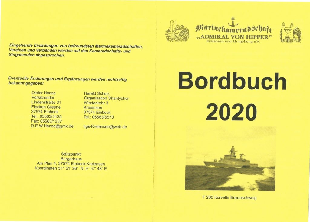 Bordbuch 2020